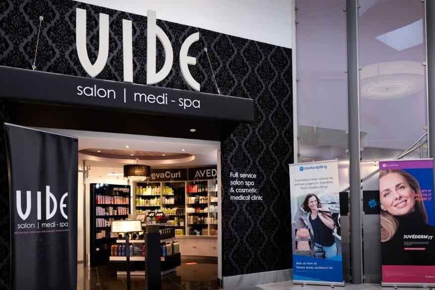 Vibe Salon Medi-Spa Mall Entrance